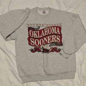 Vintage Jerzees Oklahoma Boomer Sooners Crewneck